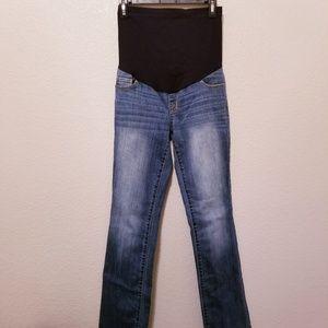 6d33ff71f4b55 Liz Lange for Target Jeans - Liz Lange Bootcut Maternity Jeans Size 4